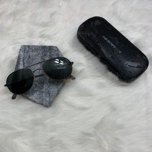 Vintage Giorgio Armani Sunglasses Black Frame